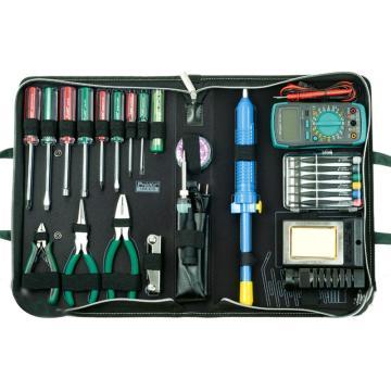 宝工Pro'sKit 高级电子维修工具组,25件组,1PK-616B-1