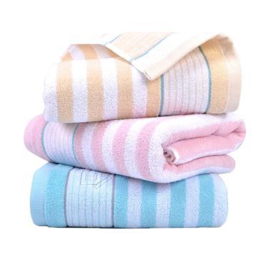 金号毛巾/浴巾, 140x72cmRC262,纯棉浴巾男女情侣款 淡雅纯色薄款洗澡巾