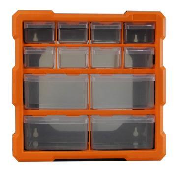 西域推荐 立式零件箱/整理箱/工具箱全新PP料,尺寸:26.5*26*16cm,型号:G-1507