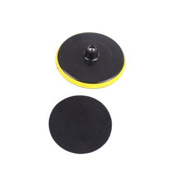 3寸抛光自粘盘,80mm 10mm螺纹孔