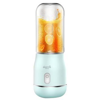 德尔玛(Deerma)榨汁杯,无线果汁杯家用 便携式充电果汁机 NU-02