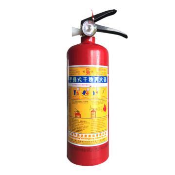 桂安 手提式干粉灭火器,1kg,MFZ/ABC1(仅限华南、西南、湖南、湖北、陕西、安徽地区)