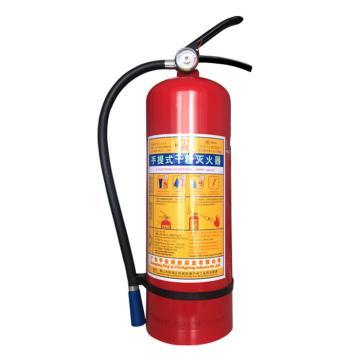 桂安 手提式干粉灭火器,8kg,MFZ/ABC8