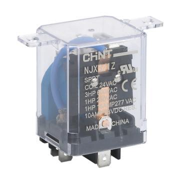 正泰CHINT NJX3小型电磁继电器,NJX3/1Z AC24V