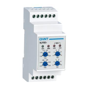 正泰CHINT NJYB3继电器,NJYB3-1P AC380V