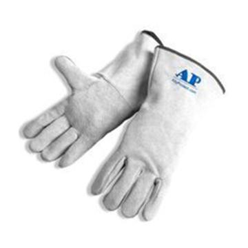 友盟 焊接手套,AP-2112-XL,原色直指烧焊手套