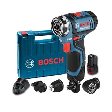 博世BOSCH 锂电起子机,GSR 12V-15 FC,2电一充,4个夹头,06019F6080