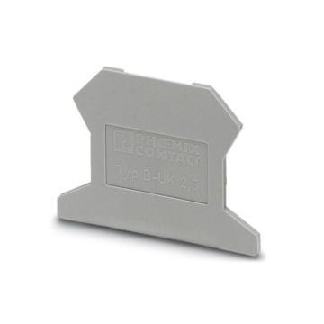 菲尼克斯PHOENIX 端子端板,3001022 D-UK 2,5,50个/包