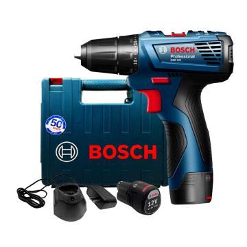 博世BOSCH 锂电起子电钻,10mm夹头,GSR 120-Li 双电(新),12V1.5Ah,06019G8080
