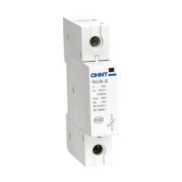 正泰CHINT NU6-II系列电涌保护器,NU6-Ⅱ 60kA/385V 3P