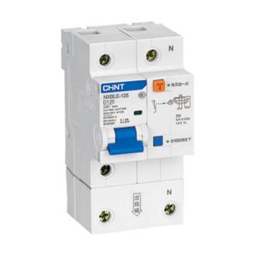 正泰CHINT 微型剩余电流保护断路器 NXBLE-125 4P 100A D型 3mA AC