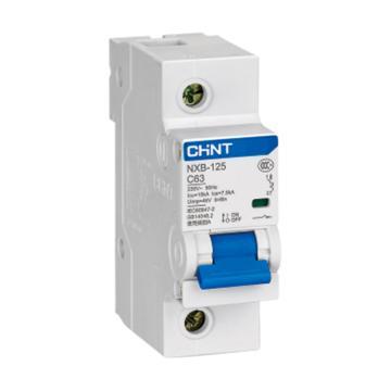 正泰CHNT 微型断路器 NXB-125 3P 100A D型