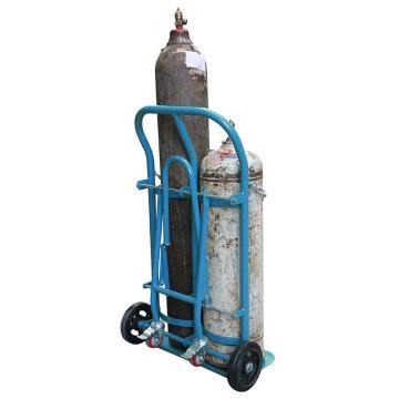 虎力 双气瓶推车,载重:200kg 适合气瓶直径140-300mm,AD20