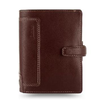 斐来仕 笔记本,025119 口袋型全颗粒头层水牛皮活页记事本 A7 棕色