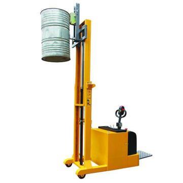 虎力 平衡重式全电动油桶堆高车,载重:420kg 扣扣式鹰嘴 电动起升 起升高度2400mm,CES420B