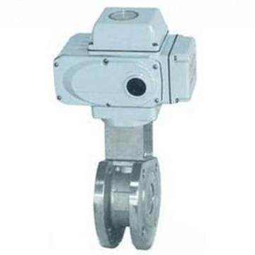 远大阀门 不锈钢304电动对夹式球阀,Q971F-16P,DN50,含电动头,220V