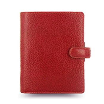 斐来仕 笔记本,025362 Filofax Finsbury 真牛皮活页记事本 A7 红色