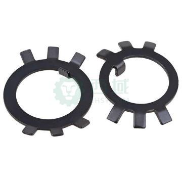 GB858圆螺母止退垫圈,M10,发黑,50个/卷