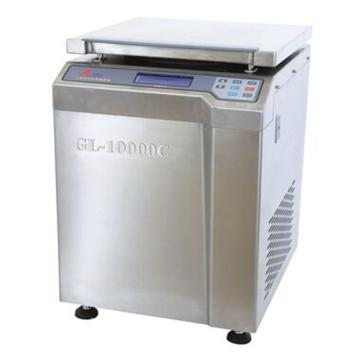 安亭 高速冷冻大容量离心机,整机全不锈钢,最高转速10000转/分,主机,GL-10000C
