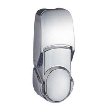 恒珠 搭扣锁,DKS-2-2,无锁芯,亮铬