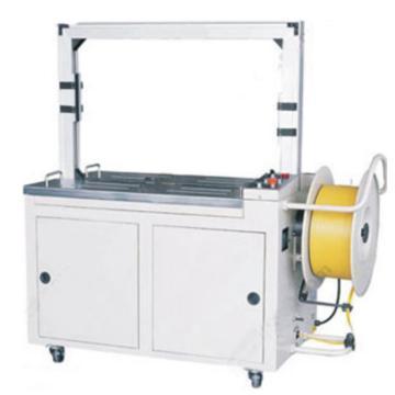 西域推荐 标准全自动打包机,弓架尺寸:800W*600H(mm),台面高度:740mm,型号:WJ-85SU