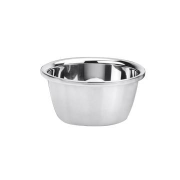 西域推荐 加厚304不锈钢盆,圆汤盆 面盆 烘焙打蛋盆 洗菜盆32cm 高度12.5cm
