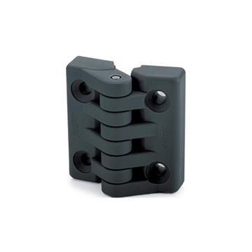 伊莉莎+冈特 铰链,镀镍钢质螺杆,CFA.49 p-M5x14,灰黑色,1个