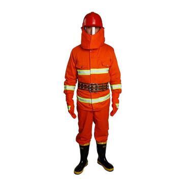 科兴 消防训练服5件套(配腰斧),XL码(不含3C,不可做正规消防服)