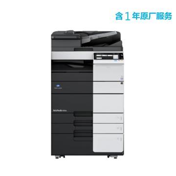 柯尼卡美能达 打印机,bizhub 458e 中速45页/分钟黑白复印/打印一体机,标配+刷卡管理软件含1年原厂服务
