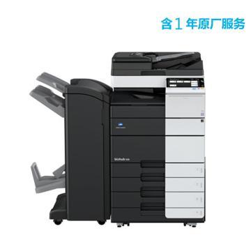 柯尼卡美能达 打印机,bizhub 458e 中高速45页/分钟黑白复印/打印一体机,高配含1年原厂服务