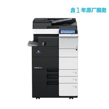 柯尼卡美能达 打印机,bizhub 458e 中高速45页/分钟黑白复印/打印一体机,标配含1年原厂服务