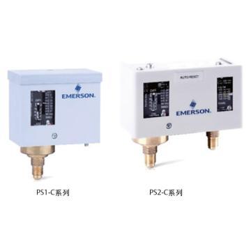 Emerson 压力控制器(高压自动,低压自动),PS2-A7AC(原型号PS2-A7A)