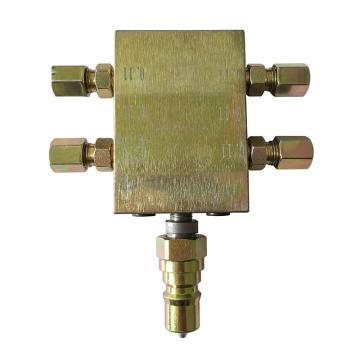 风发科技 递进分配器,配合WSJ01使用,适用于多点润滑,WFD01
