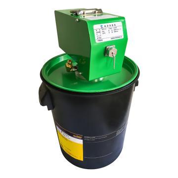 风发科技 220V电动加油机,适于25kg油脂桶,油管6米,1#、2#(锥入度265-340)油脂,WFP1225