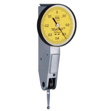 TESA 杠杆千分表,0-0.2mm,S18001695,不含第三方检测
