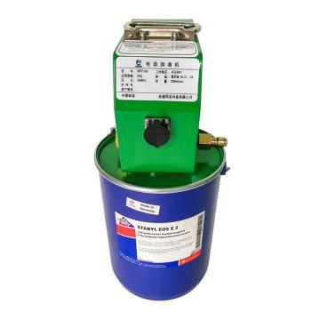 风发科技 电动加油机,适于5kg油脂桶,油管6米,WFP200