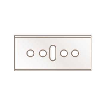 HEWER MultiFIT 美工刀片 ,HB-045.20,20片/盒