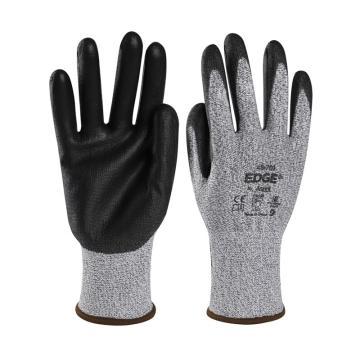 安思尔Ansell 3级防割手套,48-701-9,Edge系列 掌部PU涂层,1副