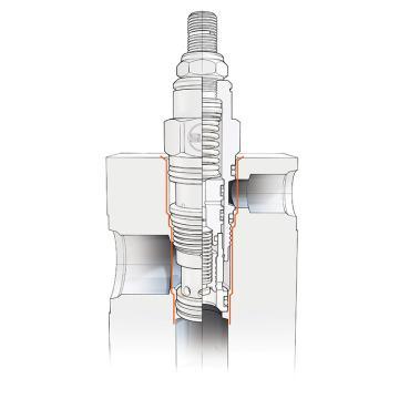 SUN hydraulics插装式溢流阀,RPECLCN