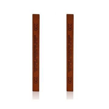 必宝BORIDE 油石,模具抛光油石条1/8*1/4*6寸 320#(3*6*150mm),红色AS-9 320#(12支/盒)