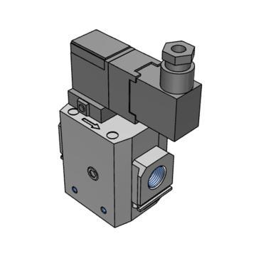 SMC 缓慢启动电磁阀,AV3000-03-5YZ