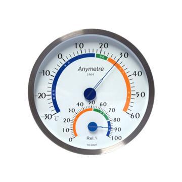 美德时/Anymetre 不锈钢温湿度计,TH602F(不含支架款)
