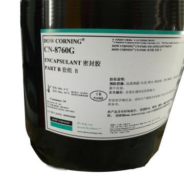 道康宁 有机硅导热灌封胶,低粘度型,CN 8760G B 高阻燃,B组分,25KG/桶
