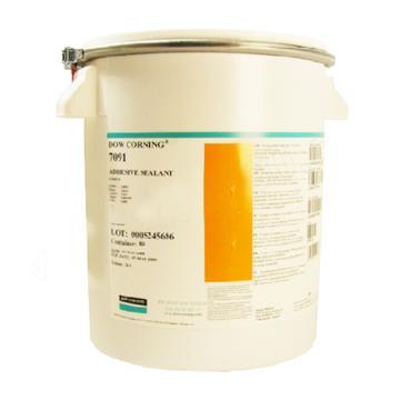 陶熙 通用型硅胶,7091黑色,20L/桶