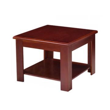 木质方茶几,DT-sf022 实木600*600*450 红木色