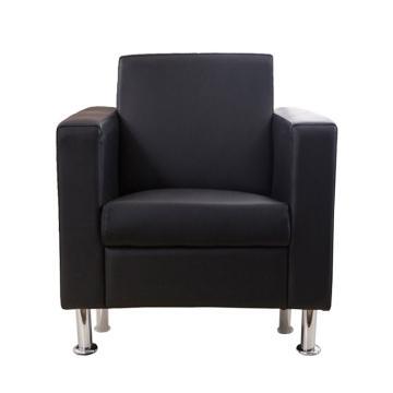 沙发款式四,单人位,DT-sf016 西皮 黑色