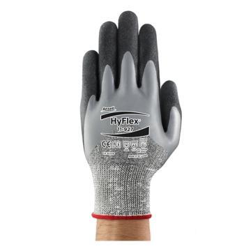 安思尔Ansell 掌部涂丁腈橡胶手套,尼龙衬里,11-927,9