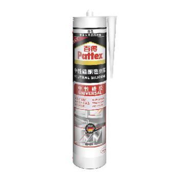 百得 中性硅酮密封胶,SPU PRO-W,白色,300ml/支