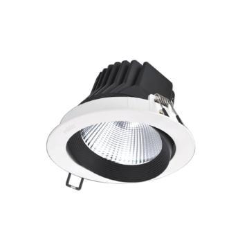 雷士 LED天花灯NLED1103D,20W黄光3000K发光角度24°开孔直径120mm,灯具外径136mm,单位:个