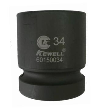 """KEWELL克威迩 30mm六角冲击套筒,1""""方头*30mm*长60mm,K60150030"""